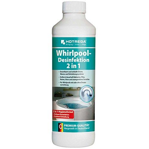 Hotrega Whirlpool Desinfektion 1 Liter Reiniger Pflege Desinfektionsmittel Whirlpoolsystem Konzentrat