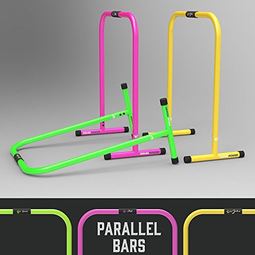 We R Sports Parallel Bars Dip Stands Crossfit Gymnastic Core Workout (Bar Stand Dip)