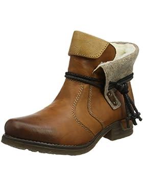 Rieker Damen 79693 Kurzschaft Stiefel