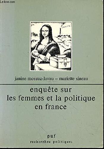 Enquête sur les femmes et la politique en France