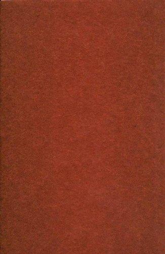 1 Bogen Bastel-Filz 20 x 30 cm – Stärke: 2mm – Farbe nach Wahl (Braun)