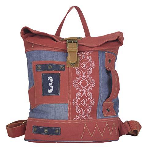 Sunsa Rucksack Damen Backpack Canvas Tasche Daypack gross Sporttasche Mädchen Umhängetasche Rucksäcke Bags for Women Ranzen Big bag lässig Weekender Taschen schöne Geschenke für Frauen top sale -