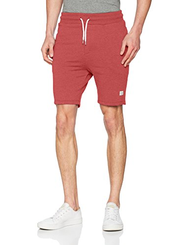 JACK & JONES Herren Shorts JORHOUSTON Sweat NOOS, Rot (Scarlet Fit:Tight Fit Semi Low Melange), 56 (Herstellergröße: XXL)