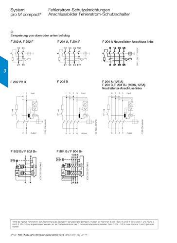 ABB FI-Schutzschalter 63A F204A-63/0,03