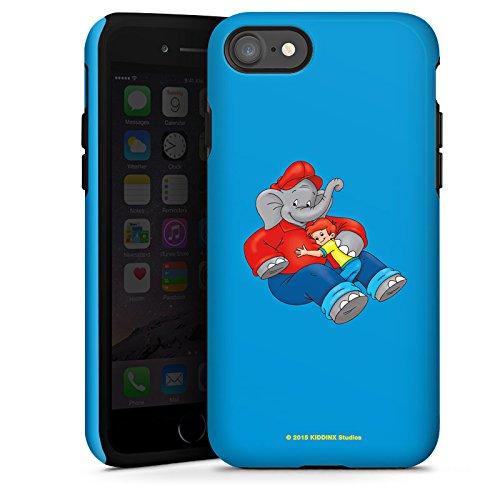 Apple iPhone X Silikon Hülle Case Schutzhülle Benjamin Blümchen Fanartikel Merchandise Beste Freunde Tough Case glänzend