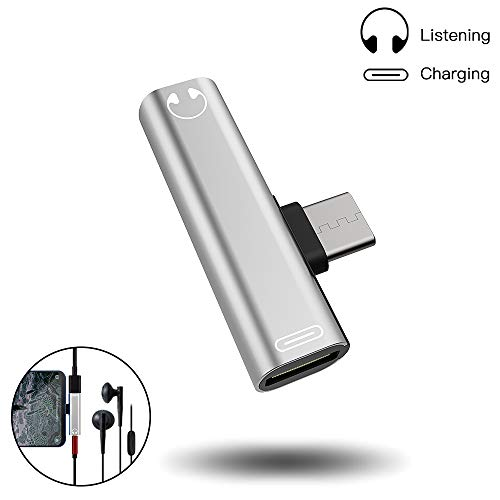 Adaptador de Conector de Auriculares USB C a 3