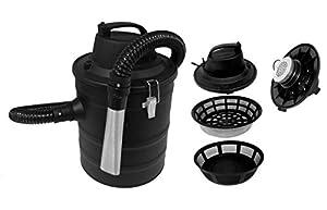 Ash Vacuum Cleaner with Motor Volume 18L 150cm Aluminium Hose