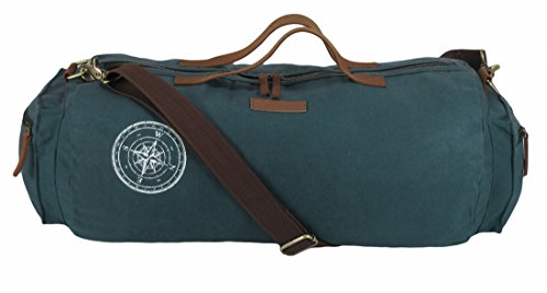 266784cfdeaf The House Of Tara Waxed Canvas Duffle/Gym Bag