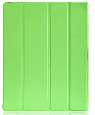 JETech iPad Hülle Schutzhülle Etui Tasche für Apple iPad 2/3/4 Smart Case Cover mit eingebautem Magnet für Einschlaf/Aufwach (Grün)