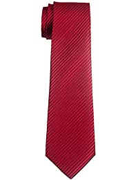 Retreez Jungen Gewebte Krawatte Textur Gestreifte - 8 - 10 Jahre