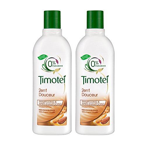 Timotei shampoo 2in1 delicatamente 300ml - Lotto di 2