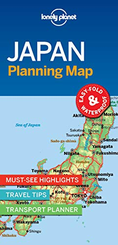 Lonely Planet Japan Planning Map por Lonely Planet