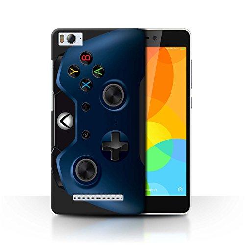 Stuff4 Hülle / Case für Xiaomi Mi 4i / Blau Muster / Videogamer/Xbox One Kollektion