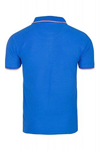 U.S. Polo Assn. Shortsleeve Polo Shirt Herren Polo-Shirt Polohemd in Verschiedenen Farben Blau