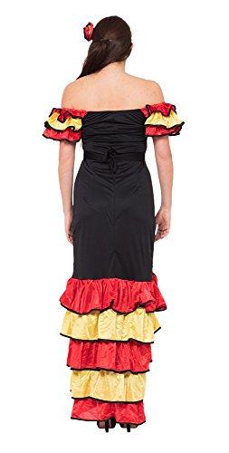 Imagen de xmas  disfraz de sevillana para mujer, talla uk 10  14 ac595  alternativa