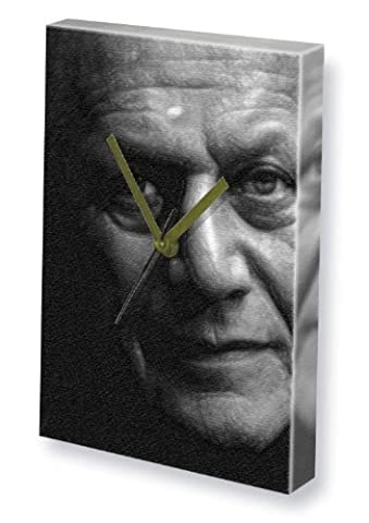 STEVEN BERKOFF - Canvas Clock (A4 - Signed by the Artist) #js001