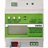 Merten MEG6725-0001 KNX DALI-Gateway REG-K/1/16 64/IP1, lichtgrau, 16 V, Grau