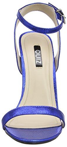 Quiz Barely There Electric Heeled Sandals, Escarpins Bout ouvert femme Bleu (bleu roi)