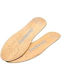 Zederello semelles en bois de cèdre, prévient contre les odeurs de pieds et les champignons