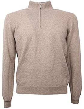 C0576 maglione lana uomo ALTEA beige melange sweater men