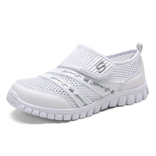 Eagsouni Unisex Kinder Sommer Atmungsaktives Mesh Sportschuhe Schuhe Weichen Boden Freizeitschuhe -