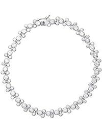 14c149b86e6ea4 Disney Mickey Mouse gioielli per donne e ragazze, braccialetto tennis in  argento Sterling con zirconi