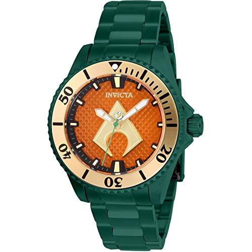Invicta Women's DC Comics Green Steel Bracelet & Case Automatic Watch 27140