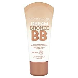 Maybelline New York Dream Bronze BB Cream - BB crème liquide  - claire 8 en 1