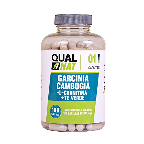 Garcinia Cambogia con L-Carnitina e tè verde per ridurre l'appetito e accelerare il metabolismo - Integratore alimentare con proprietà dimagrante - Potenzia le prestazioni sportive -120 capsule