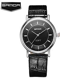 97b1734a25f1 sportuhr Sanda Reloj de Cuarzo Reloj de Moda Cinturon par College Viento  Impermeable Reloj