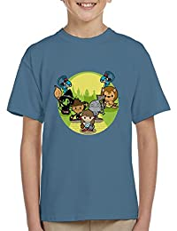 Wizard of Oz Dorothy And Friends Yellow Brick Road Kid's T-Shirt