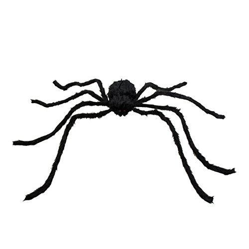 Spinnen Halloween Riesen (NEU Deko-Figur Riesen-Spinne, schwarz,)