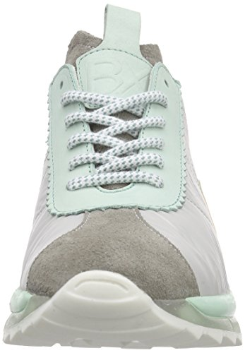 Bronx Brodax, Baskets Basses femme Mehrfarbig (1563 L.grey/mint)