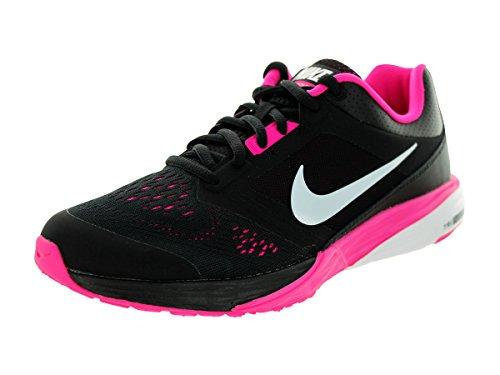 Nike Wmns Tri Fusion Run, Chaussures de Running Entrainement Femme, Taille Noir (Noir / Blanc-Rose Foil)