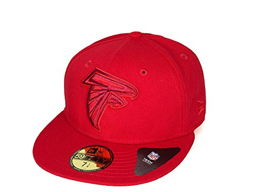 New Era - Atlanta Falcons - Color Pop Edition - 59Fifty Fitted Cap Kappe - NFL American Football (7 5/8)