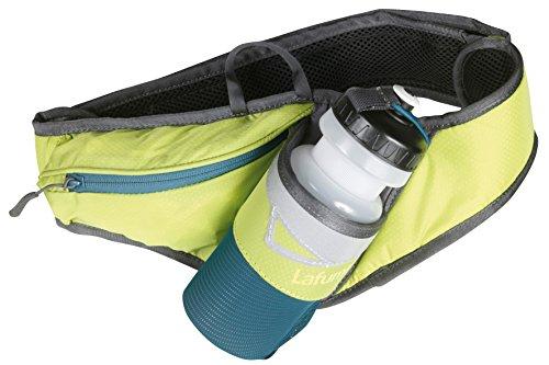 Lafuma Trinkgürtel Cinetik Bottle - Macuto de senderismo ( bolsillo, tamaño único, soporte para botellas ) , color verde ácido, talla Talla única