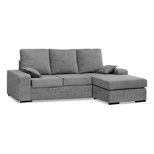 Sofás chaise longue 3 4 plazas salon sofa chaiselongue cheslong ref-54