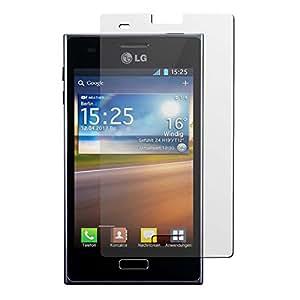 4er-Pack Displayschutzfolie klar für LG Optimus L5 von PhoneNatic