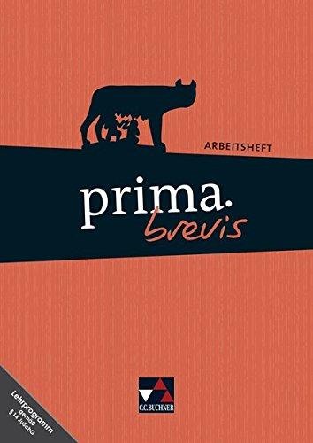 Preisvergleich Produktbild prima brevis / prima.brevis AH mit Lernsoftware: Unterrichtswerk für Latein 3 und Latein 4