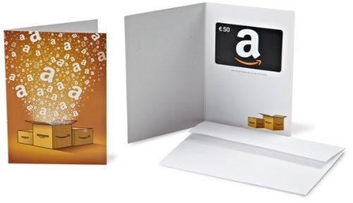 Tarjeta Regalo Amazon.es - €50 (Tarjeta de felicitación Amazon)