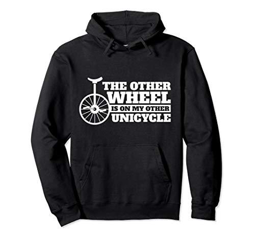 Sarcastic Unicycling Geschenk-Design Rad auf anderen Pullover Hoodie