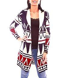 grau Rick Cardona Damen Designer-Kimonojacke mit Spitze