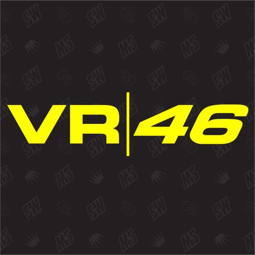 VR 46 - Pegatinas de Valentino Rossi, Moto GP