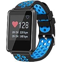 Smart Watch Fitness Tracker Con Monitor De Ritmo Cardíaco Monitor De Actividad Con IP67 Monitor De Sueño Impermeable Podómetro Para Niños Mujeres Hombres Bluetooth Smartwatch Con Presión Arterial Para
