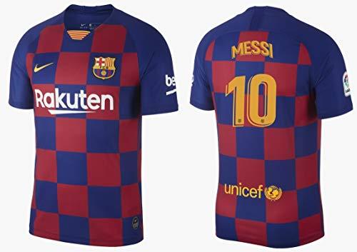 F.C. Barcelona Trikot Herren 2019-2020 Home La Liga - Messi 10 (M) -