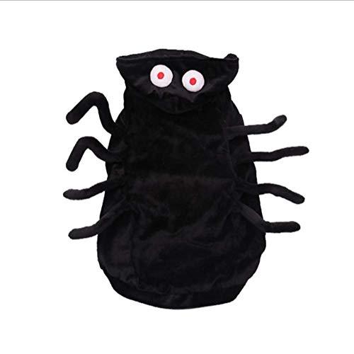 Unbekannt XINGUANG Haustier-Hundekatzen-Welpen-Halloween-Weihnachtslustiger Mantel-Cosplay Kostüm-Halloween-kleines Haustier Sweatshirt (größe : M)