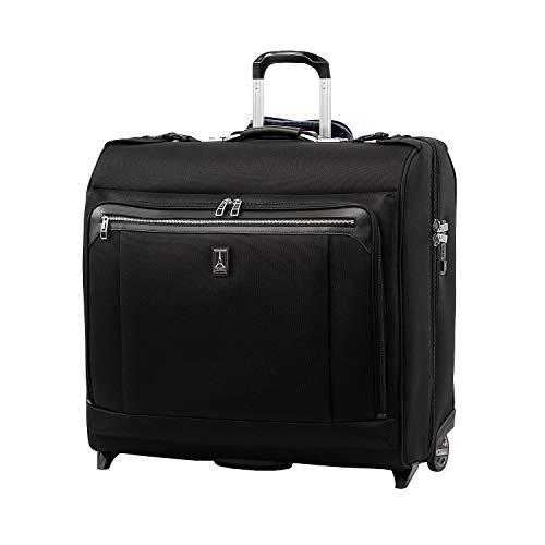 Travelpro Platinum Elite Borsa per Completo Bagaglio A Mano con 2 Ruote 61x62x27 cm, Morbida e Durevole, con Chiusura Tsa, 95 Litri, Valigia da Viaggio, Colore Nero, Garanzia 10 Anni