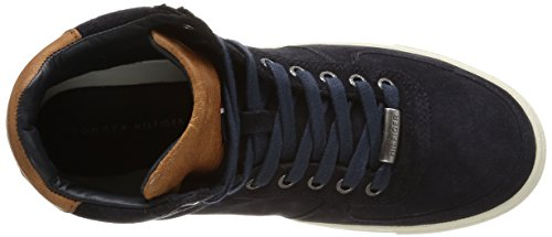 Tommy Hilfiger Mason 1b, Sneakers Hautes homme Bleu (403 Midnight)