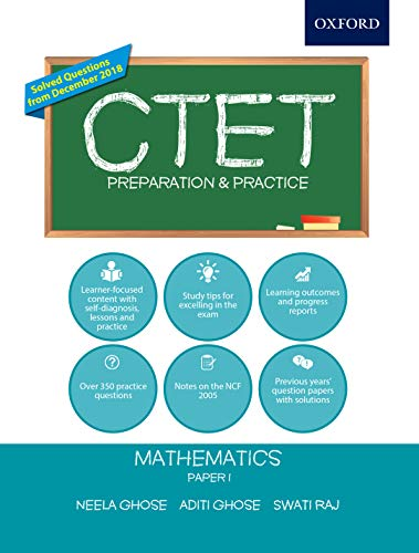 CTET Preparation and Practice: Mathematics Paper I