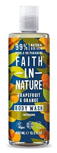 Faith in Nature Pamplemousse/Orange Gel Douche/Bain Moussant